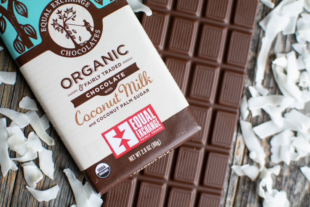 Organic Chocolate + Coconut Milk 55%