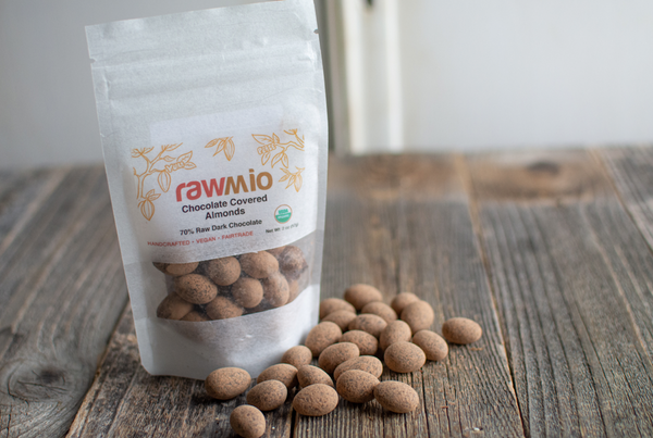 Organic Chocolate Covered Almonds