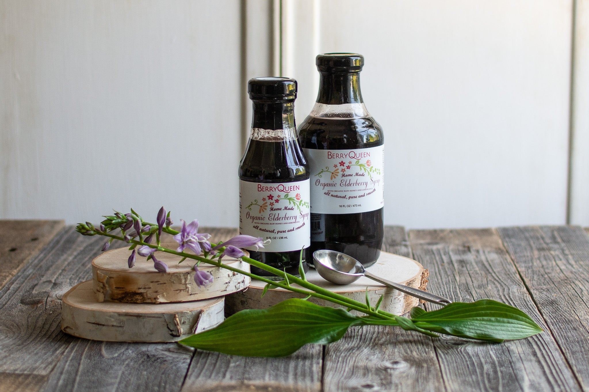 Large Organic Elderberry Syrup