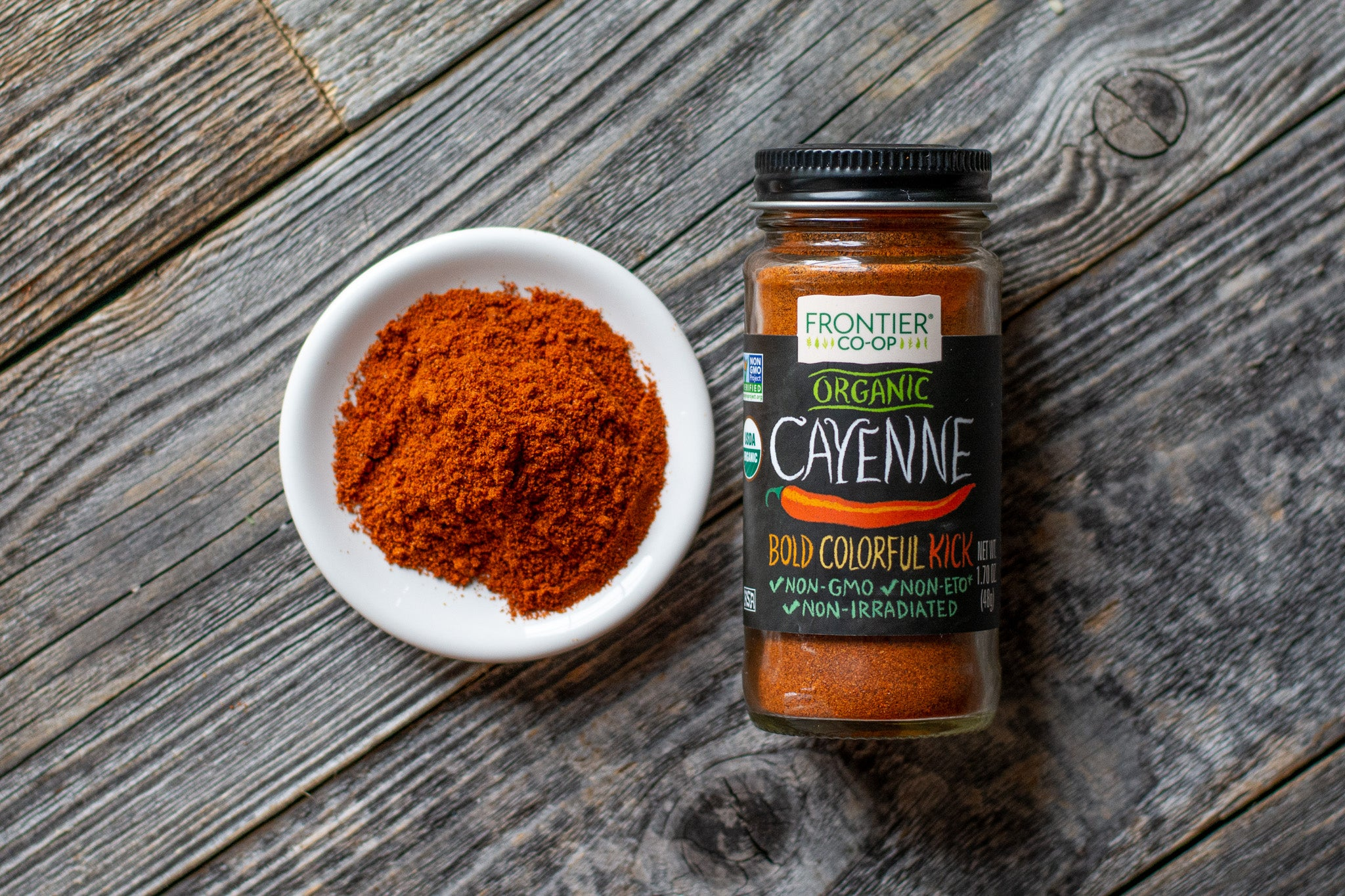 Organic Cayenne Red Pepper