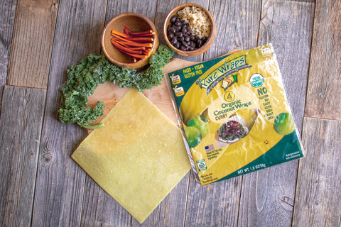 Organic Curry Coconut Wraps
