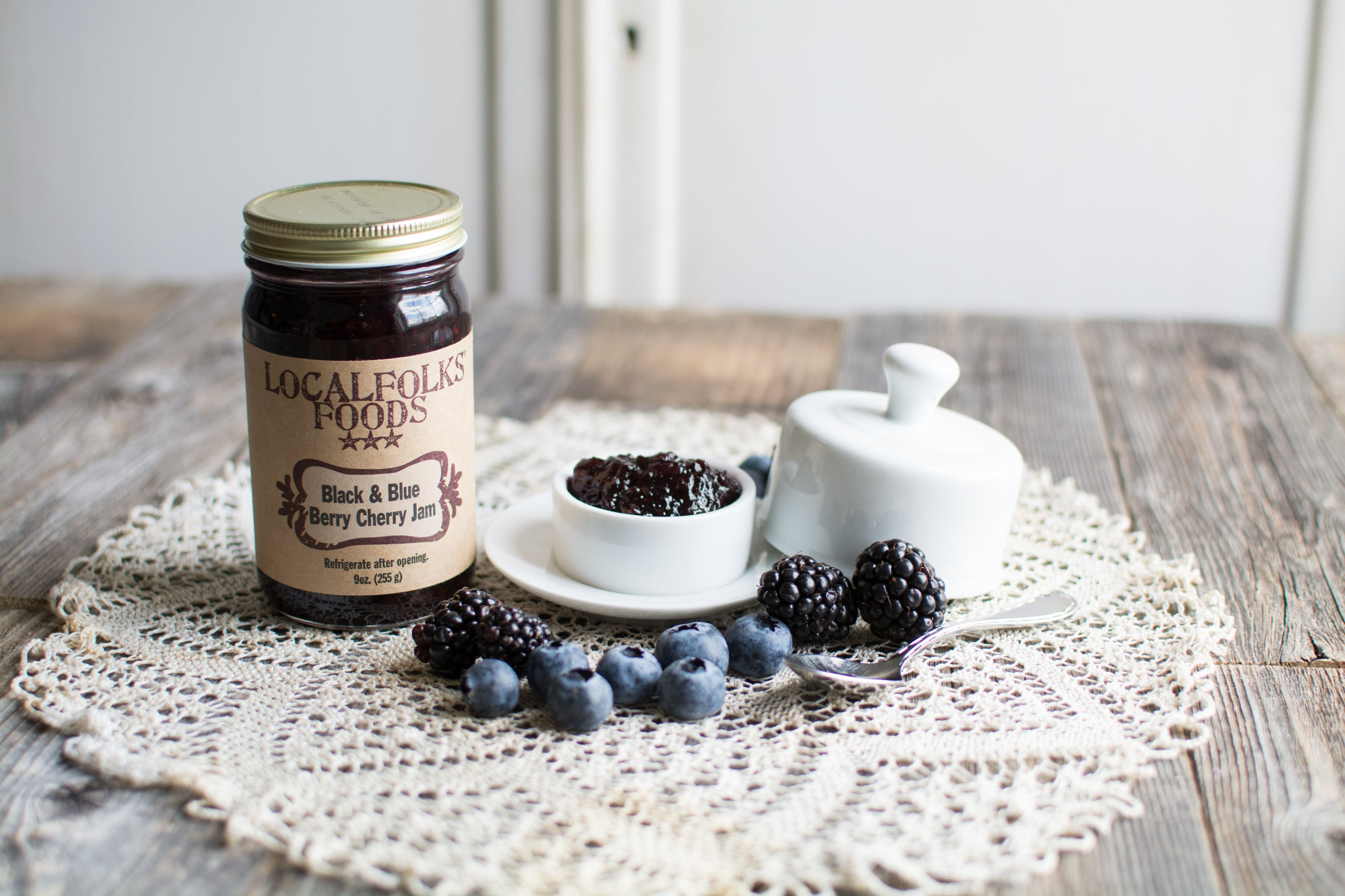 Black & Blue Berry Cherry Jam