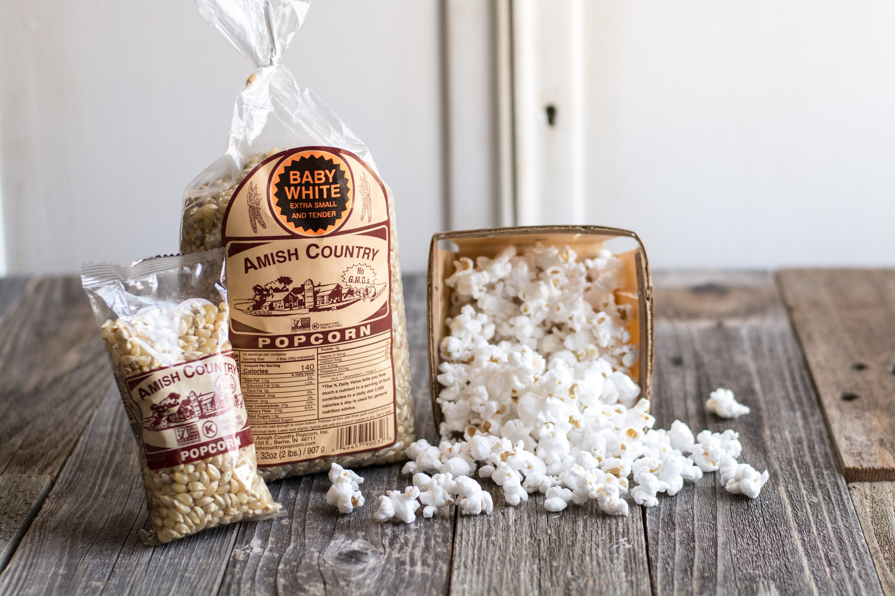 Mini Bag | Baby White Popcorn