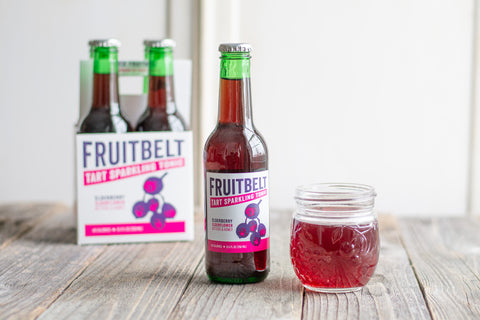 4 Pack - Elderberry Tart Sparkling Tonic