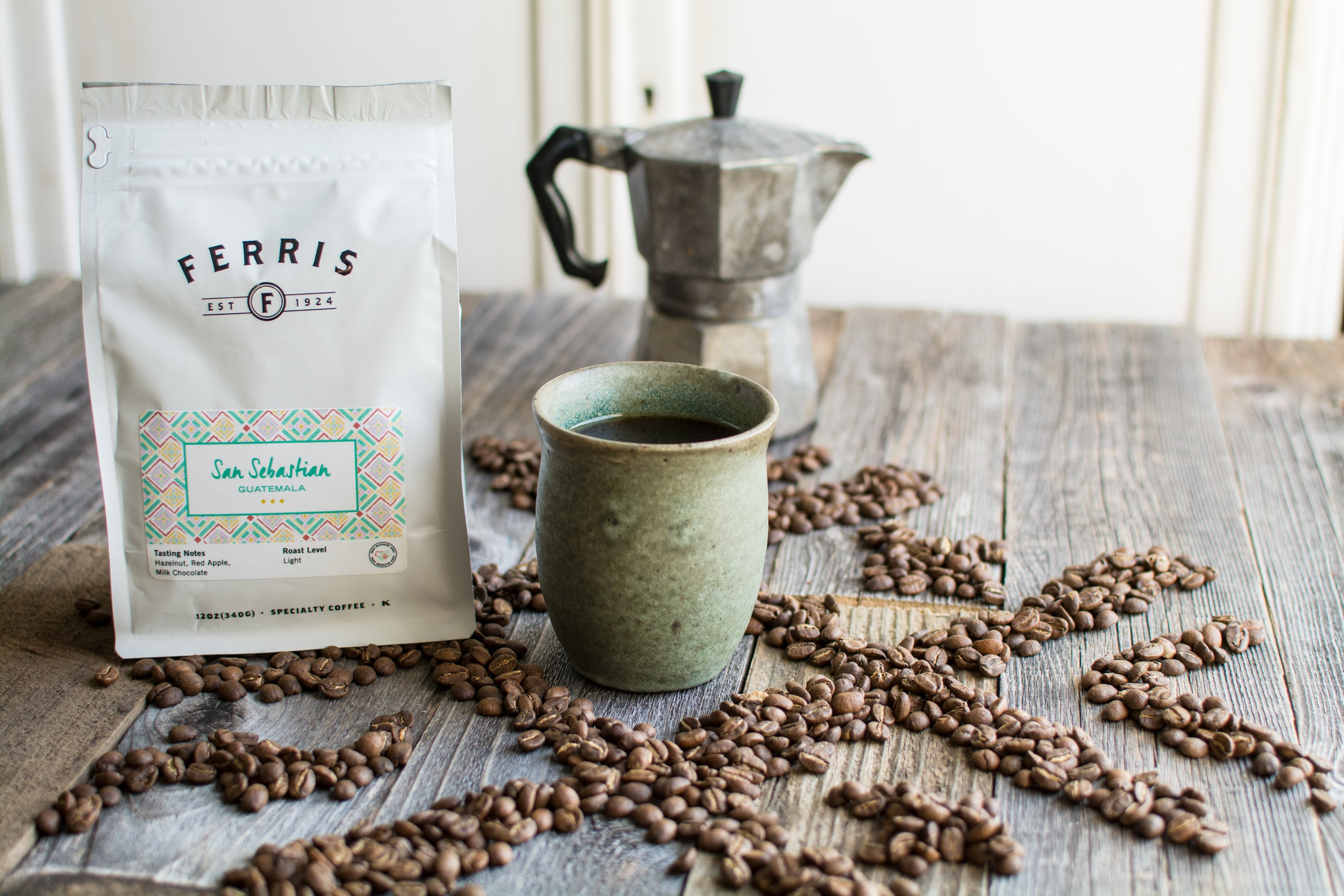 Guatemala San Sebastian Whole Bean Coffee