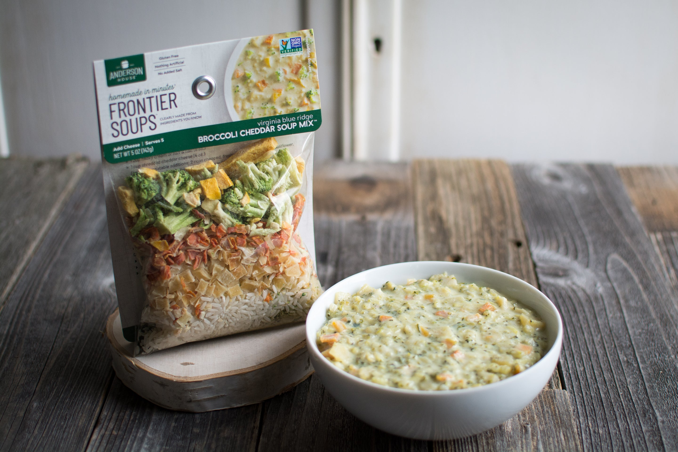 Virginia Blue Ridge Broccoli Cheddar Soup Mix
