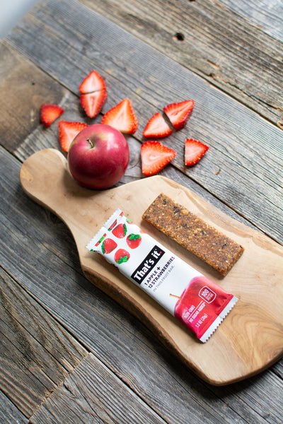 Apple & Strawberry Bar
