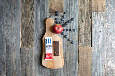Apple & Blueberry Bar