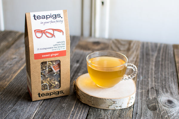 Sweet Ginger Tea Temples