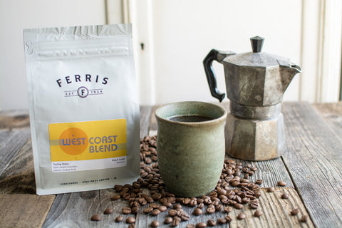 West Coast Blend Whole Bean Coffee