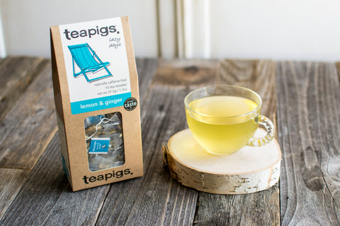 Lemon & Ginger Tea Temples