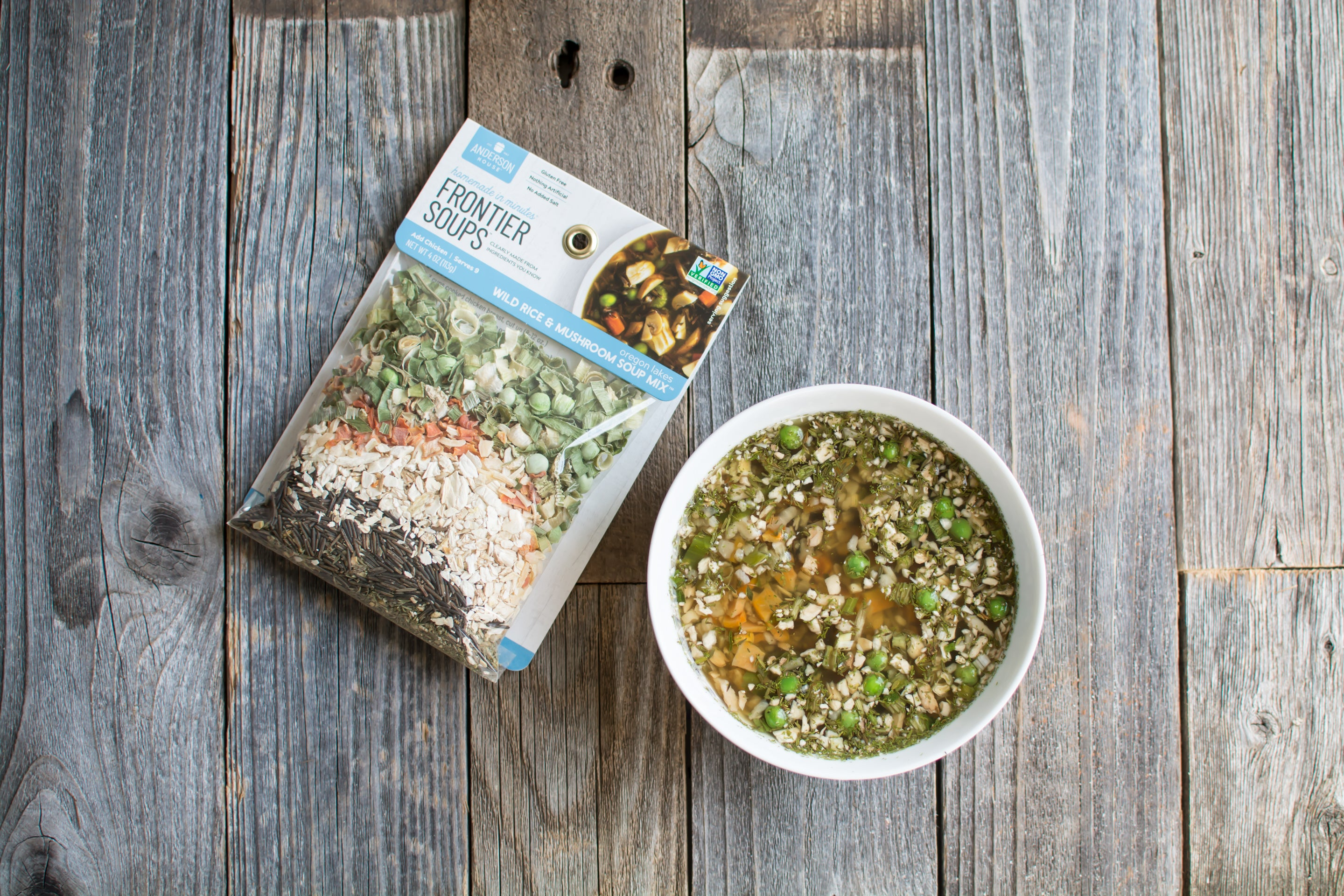 Oregon Lakes Wild Rice with Mushroom Soup Mix