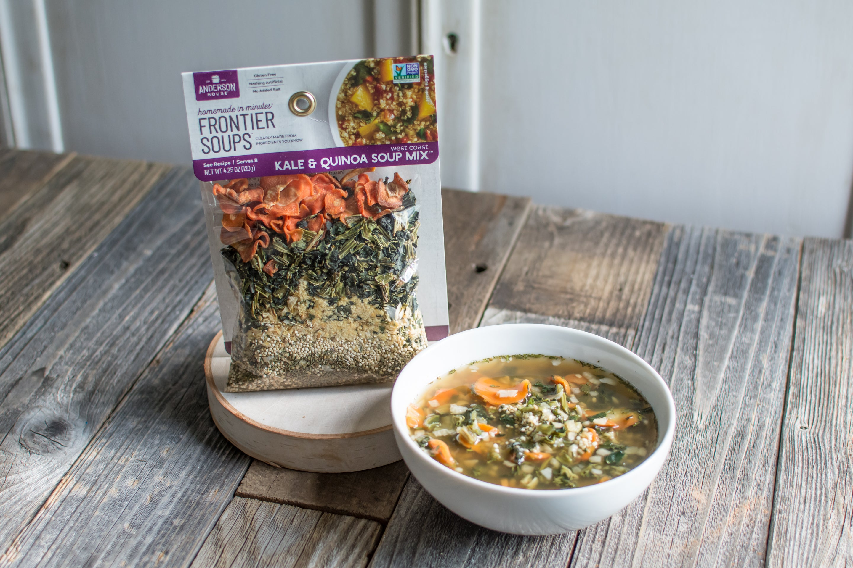 West Coast Kale and Quinoa Soup Mix