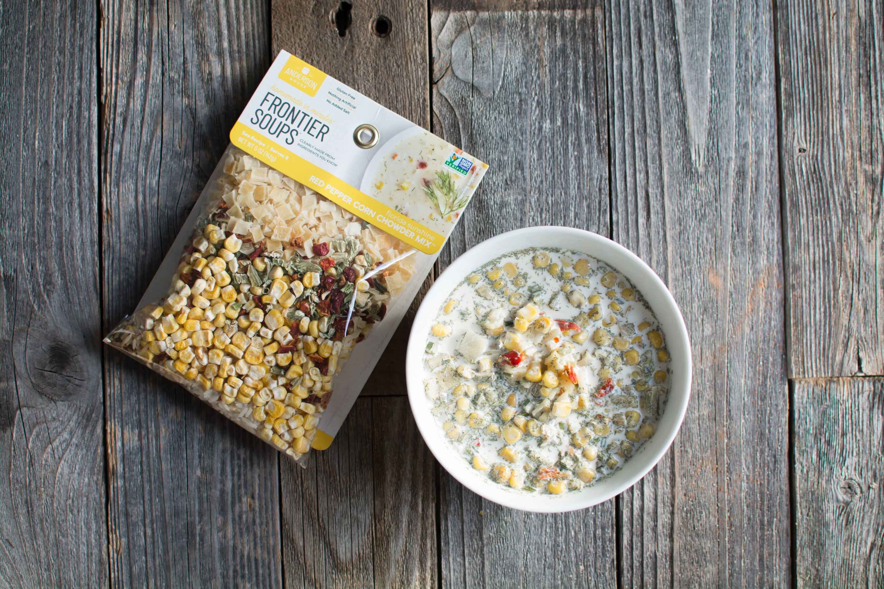 Florida Sunshine Red Pepper Corn Chowder Soup Mix