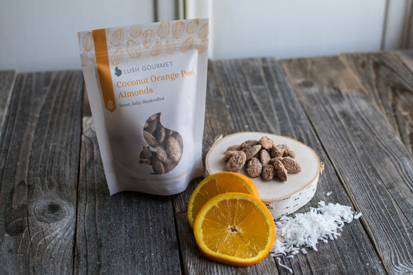 Lush Coconut Orange Peel Almonds