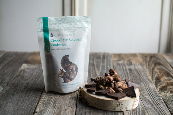 Lush Gourmet Chocolate Sea Salt Cashews