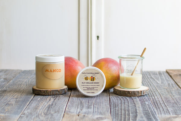 Mango Creamed Honey