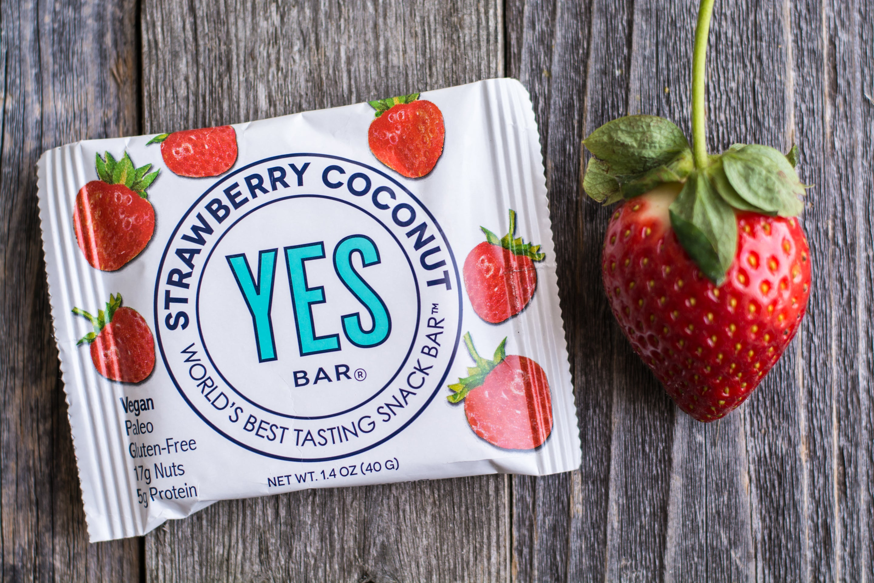Strawberry Coconut Bar