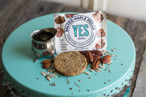 YES BAR® Salted Maple Pecan Bar