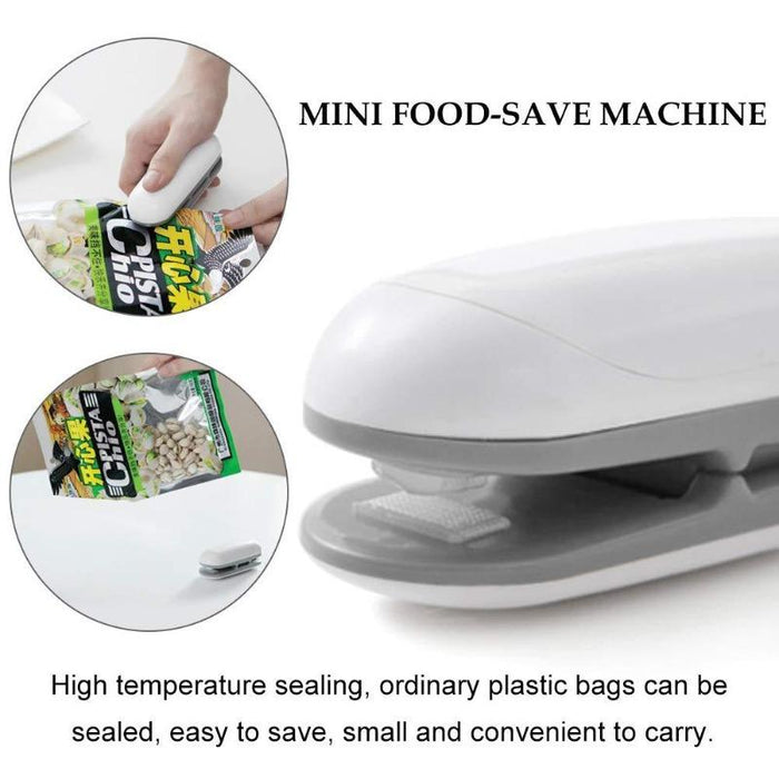 2 in 1 Food Sealer and Cutter (2 Pack)