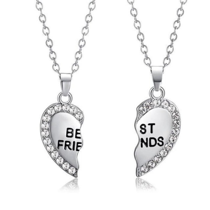 Best Friend Necklace Next Door Specials Silver