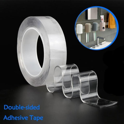 Reusable Double-Sided Tape (3 Rolls)