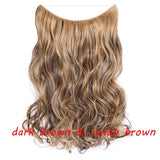 Invisible One Piece Halo Hair Extension