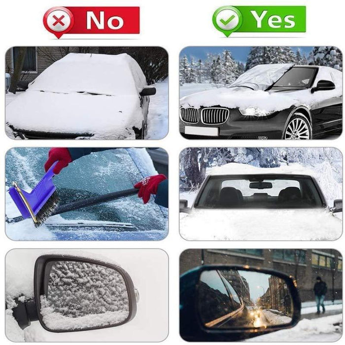 Durable Magnetic Windshield Cover