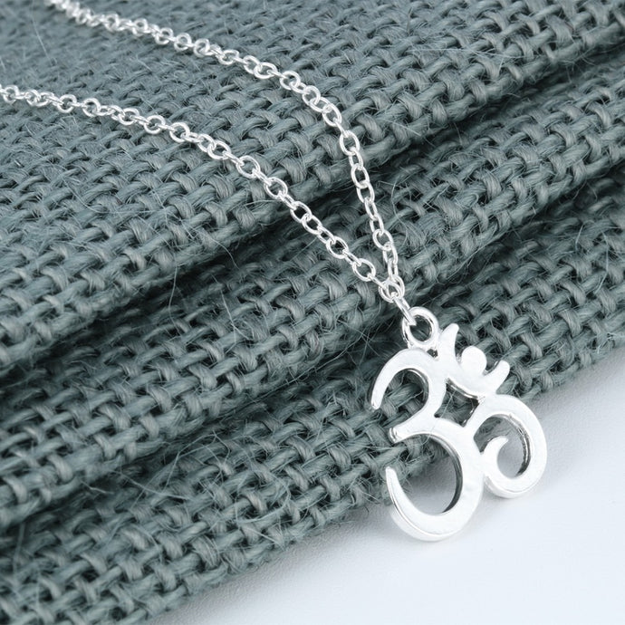 Om Symbol Yoga Charm Necklace