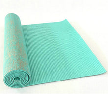 Load image into Gallery viewer, Non-slip Jute Pvc Yoga Mat