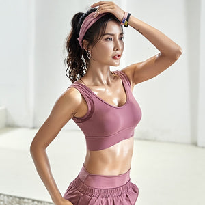High Impact shockproof  Sports Bra