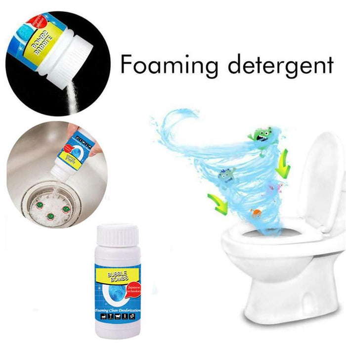 Quick Foaming Toilet And Drain Cleaner