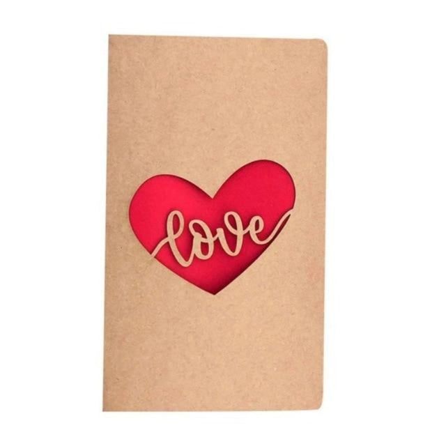 Valentine's Day Pop-up Greeting Card