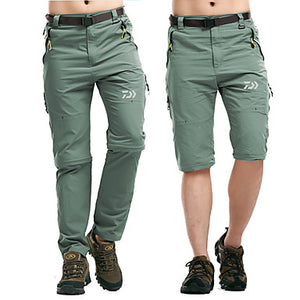 Men's Pants / Trousers Rain Waterproof Fast Dry Wearable Fishing Hiking Sports & Outdoor Traveling