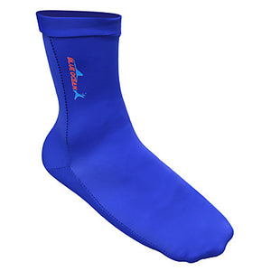 Bluedive Neoprene Socks 1mm Neoprene Swimming Diving Surfing Snorkeling - Breathable High Strength Softness for Adults / Patchwork