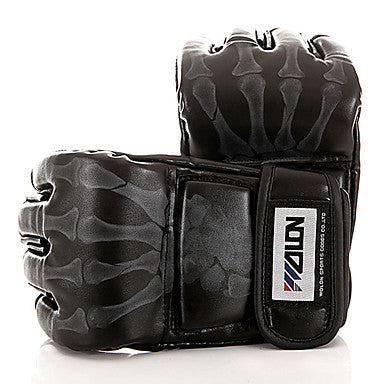 Boxing Bag Gloves / Boxing Training Gloves / Grappling MMA Gloves for Taekwondo / Boxing / Karate Fingerless Gloves Adjustable / Breathable / Wearproof WULONG®
