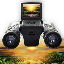 Load image into Gallery viewer, 12 X 32 mm Binoculars High Definition LCD Display with Recording Image and Video Function Observing Wildlife Camping / Hiking Hunting Climbing with Battery Included