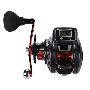 Fishing Reel Baitcasting Reel / Electric Reel 6.3:1 Gear Ratio+16 Ball Bearings Right-handed / Left-handed Sea Fishing / Fly Fishing / Bait Casting