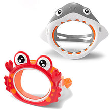 Load image into Gallery viewer, Diving Mask Underwater Single Window - Swimming Silicone - For Kids White / Anti Fog