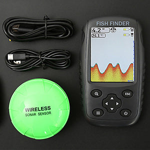Fish Finder 1 pcs 152.4 mm LCD 0.6-73 m Wireless Wireless Chargeable General Fishing