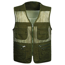 Load image into Gallery viewer, Men's Vest / Gilet Windproof Breathability Heat Retaining Fishing Daily Wear / Cotton