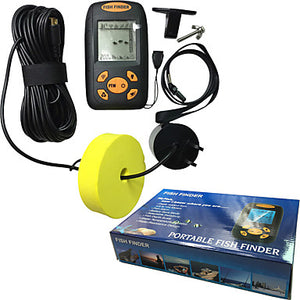 Fish Finder LCD 0.6-100 m Waterproof LED None Wireless 4×AAA Other