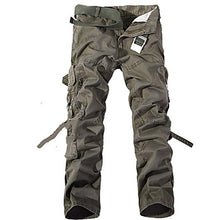 Load image into Gallery viewer, Men's Hiking Pants Hiking Cargo Pants Outdoor Windproof Breathable Comfortable Wear Resistance Winter Cotton Pants / Trousers Bottoms Camping / Hiking Hunting Fishing Black Brown Army Green XXS XS S