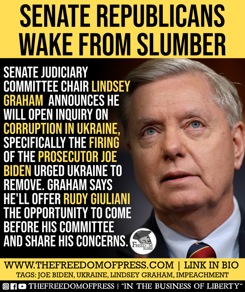 SENATE REPUBLICANS WAKE FROM SLUMBER
