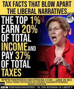 TAX FACTS THAT BLOW APART THE LIBERAL NARRATIVES (#14)