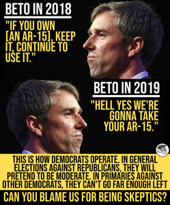 ADD BETO TO THE LIST OF DEMOCRATS WITH ZERO PRINCIPLES