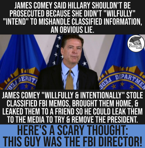 YES, COMEY DID LEAK CLASSIFIED INFO