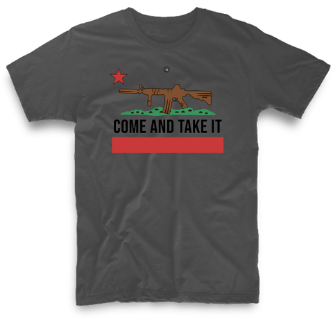 COME AND TAKE IT CALIFORNIA FLAG | UNISEX