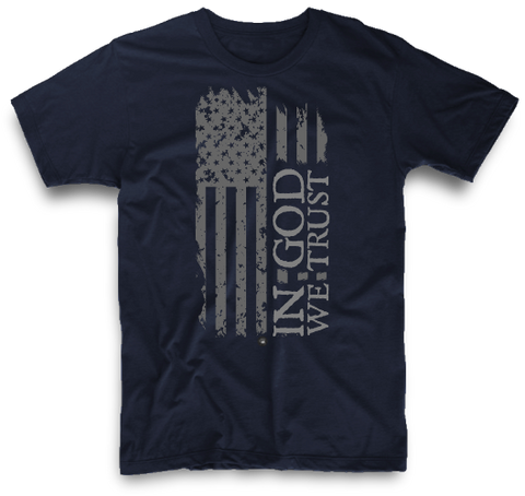 IN GOD WE TRUST AMERICAN FLAG | UNISEX