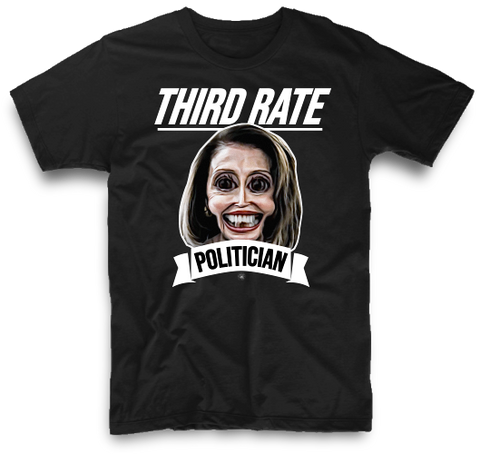 THIRD RATE POLITICIAN | UNISEX